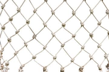 White rope net woven