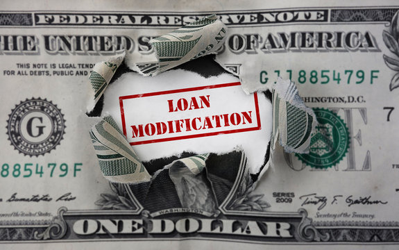Loan Modification stamp