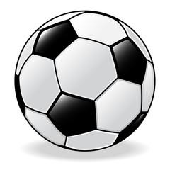 Isolated Soccer ball, Football -Vector Illustration