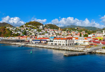 Fototapeten Karibik St. George's, Grenada, Caribbean