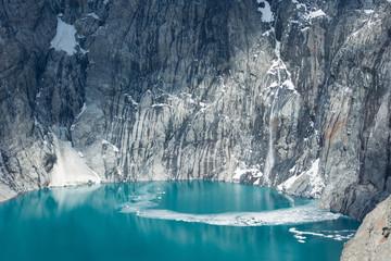 Argentina, Patagonia, El Chalten,Los Glaciares National Park, Lagoon Sucia