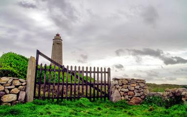 Cap Levi Lighthouse. Fermanville-Bourg, Normandy, France