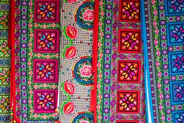 Colored Morrocan fabric