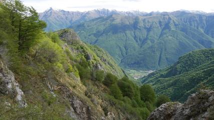 Panorama della Valsassina