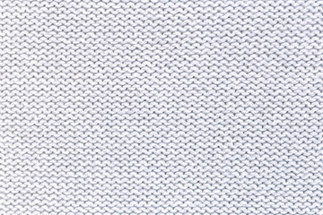 White Crocheted Fabric Texture.  gray  Texture.