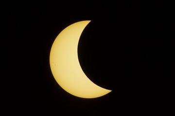 Half Way Gone Solar Eclipse