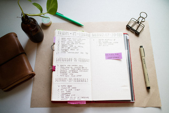 My bullet journal planner