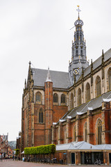 Grote Kerk (Great Church) on the Grote Markt, Haarlem's central square
