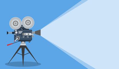 Retro cinema Video Camera