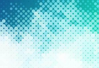 Obraz Abstract dots background - fototapety do salonu