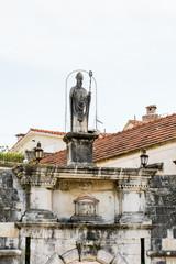 Entrance into the  Historic City of Trogir, Croatia. UNESCO WOrld Heritage Site
