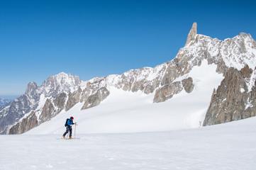Mountaineer ski