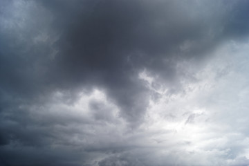 Himmel - stürmisches Herbst Wetter - sky