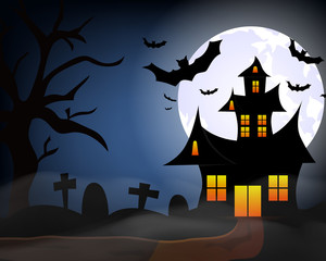 Happy Halloween. Celebration. All Saints' Day. Spirits. Fearfully. A party.