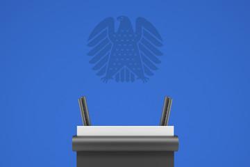 Bundestag Podium