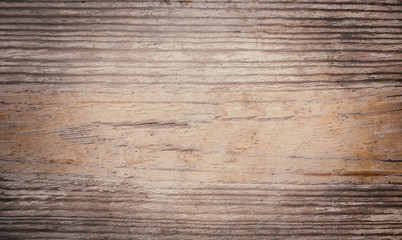 Vintage  wooden textured background with natural pattern and scratches. Rustic dark surface with wood grainy texture. Old table top