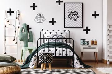 Kids bedroom with accessories