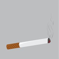 Vector of cigarette