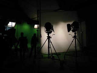 Kamera, Studio, Filmstudio, Greenscreen, Bluebox, Atelier