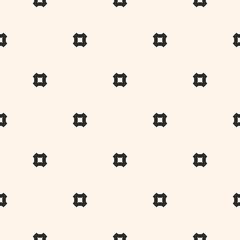 Minimalist seamless pattern, simple geometric squares