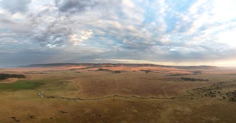 Masai Mara panorama at daybreak