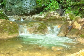 Baerenschuetzklamm, Waterfall
