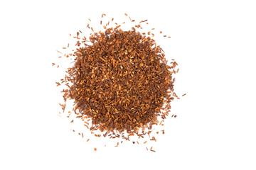 Heap of dry rooibos tea