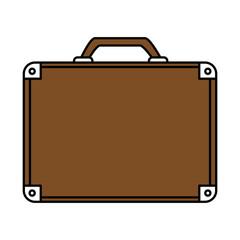 business briefcase icon image vector illustration design