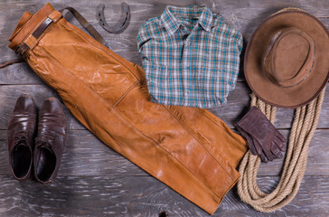 Cowboy clothes and things