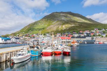 Port de Honningsvåg, Norvège