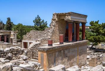 Knossos palace, Crete, Greece