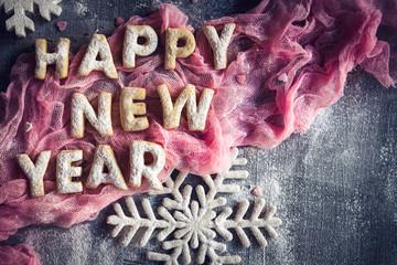 Happy New Year cookies