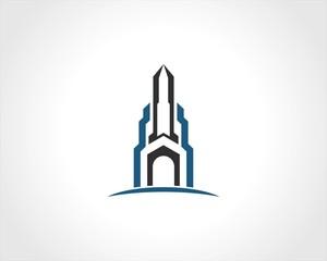 building cityscape logo