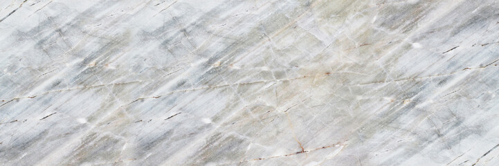 Wall Mural - horizontal white marble texture for pattern and background