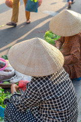 Morning fresh market in Hoi An, May 2017