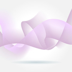 Abstract colorful geometric wave background