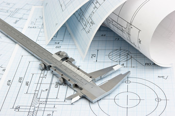 twisted technical drawing