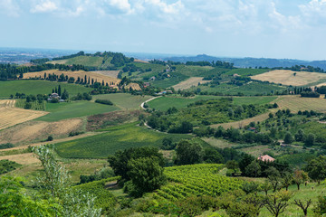 Typical Italian landscape