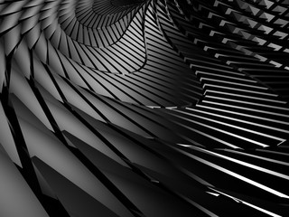 Dark Metallic Industrial Design Background
