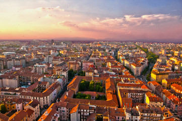 Milano dall'alto