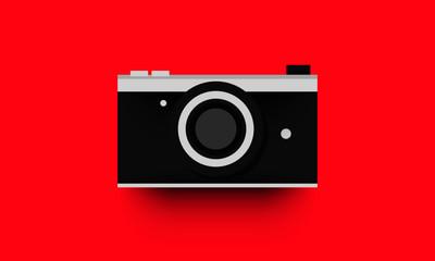 Flat Camera Illustration