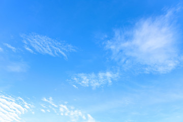 amazing Sky Blue and white background
