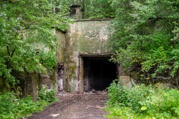 Abandoned Soviet bunker