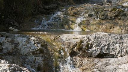 Ruscello con cascata