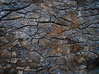 colorful crack stone background