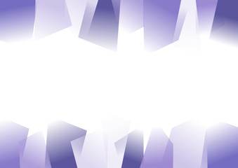 Abstract jagged background with copy space 3D Illustration Vector