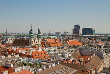 Wien Vienna Panorama City