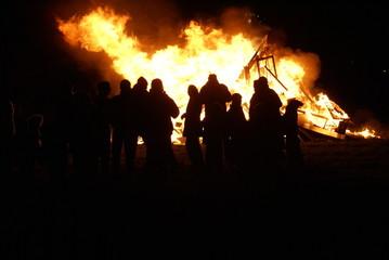 Civil unrest, arson, riot