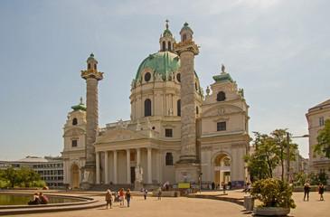 Wien Karlskirche Vienna Karl´s Church