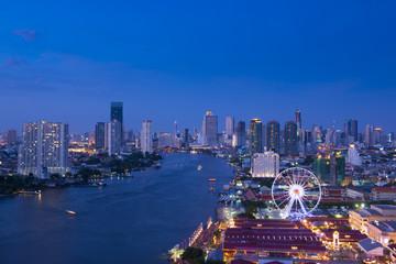 Bangkok new travel iconic place skyline